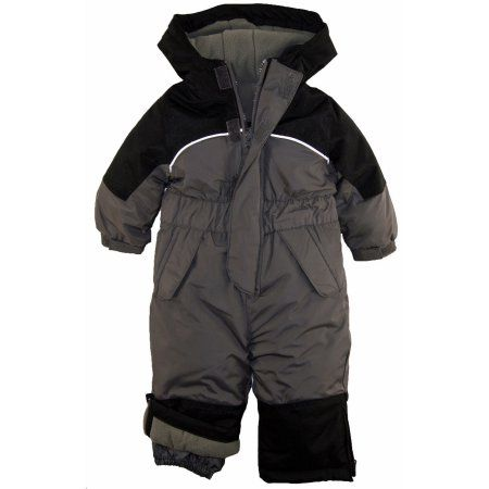 93e0b832bb88 iXtreme Baby Boys Snowmobile One Piece Winter Snowsuit