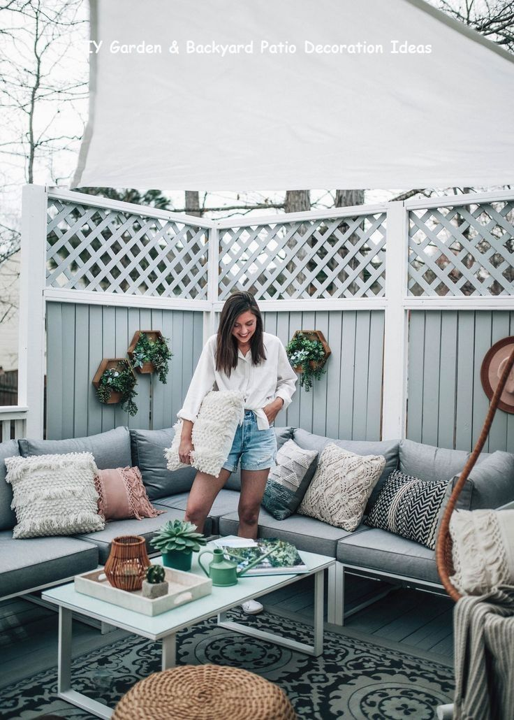 13 Awesome And Cheap Patio Furniture Ideas 2 Meuble Jardin Veranda Terrasse Balcon Terrasse