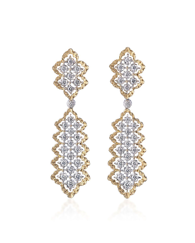 Buccellati Rombi Diamond Drop Earrings gj6zb