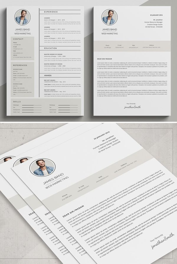 21 fresh  u0026 professional resume    cv templates to get your