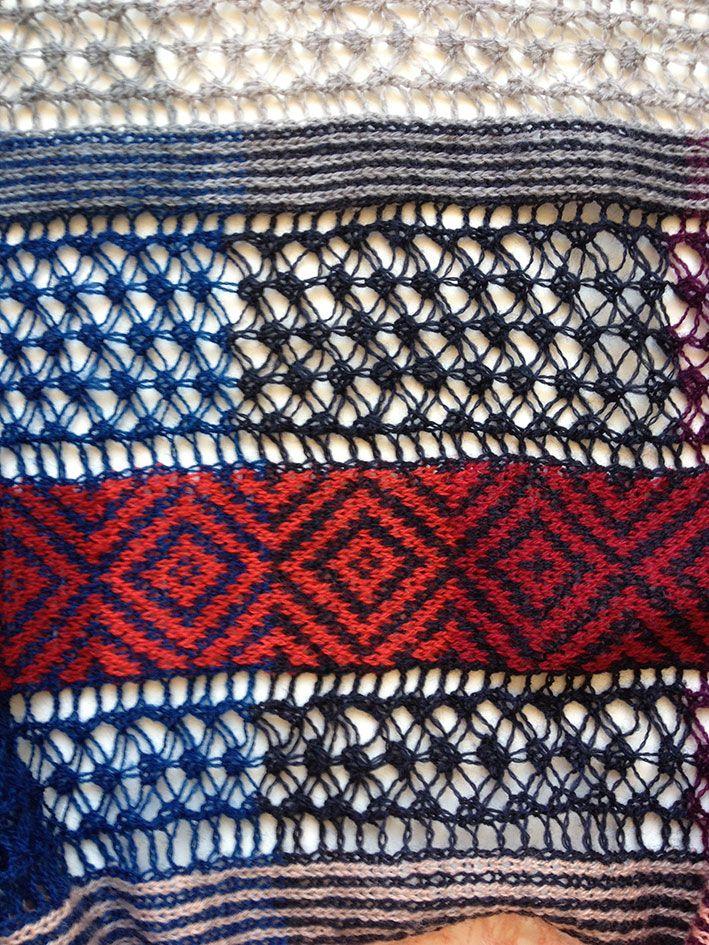 Renaissance Stripes details | Textiles, Tejido y Bordado