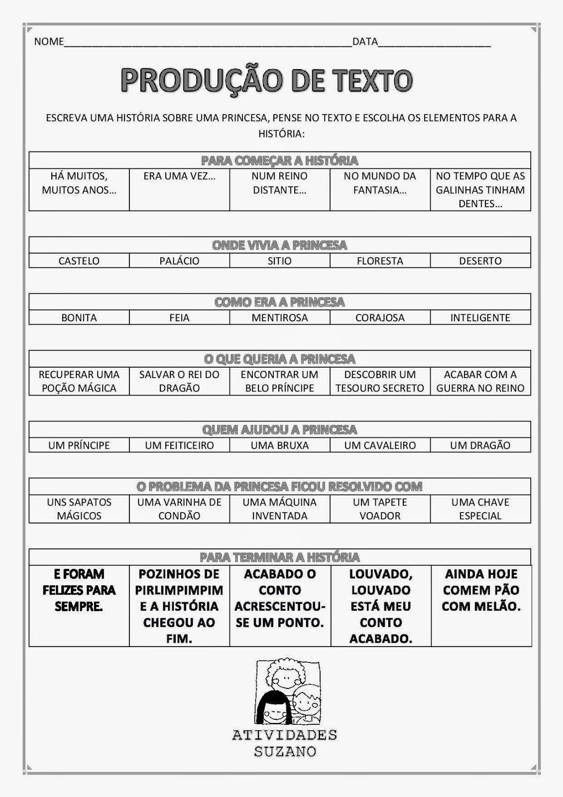 Atividades Adriana Produção De Texto Atividades De