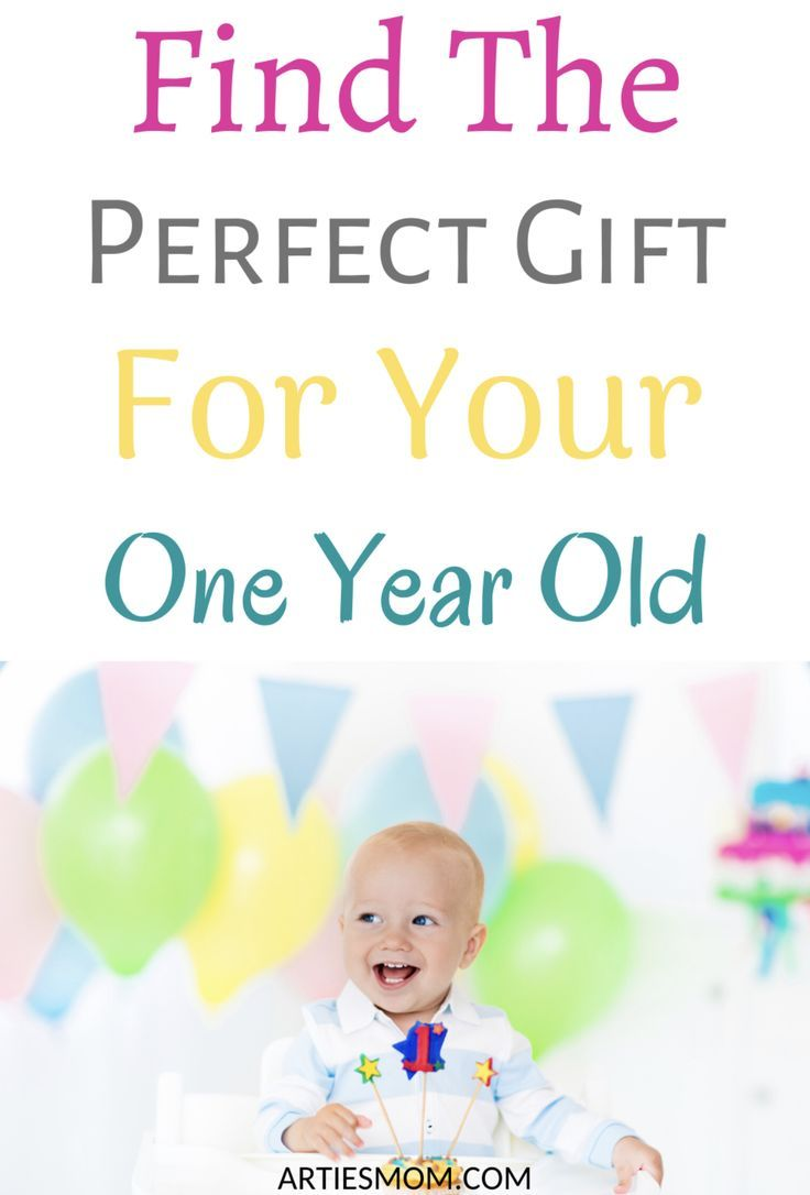 Find The Perfect Gift For Your One Year Old! ArtiesMom