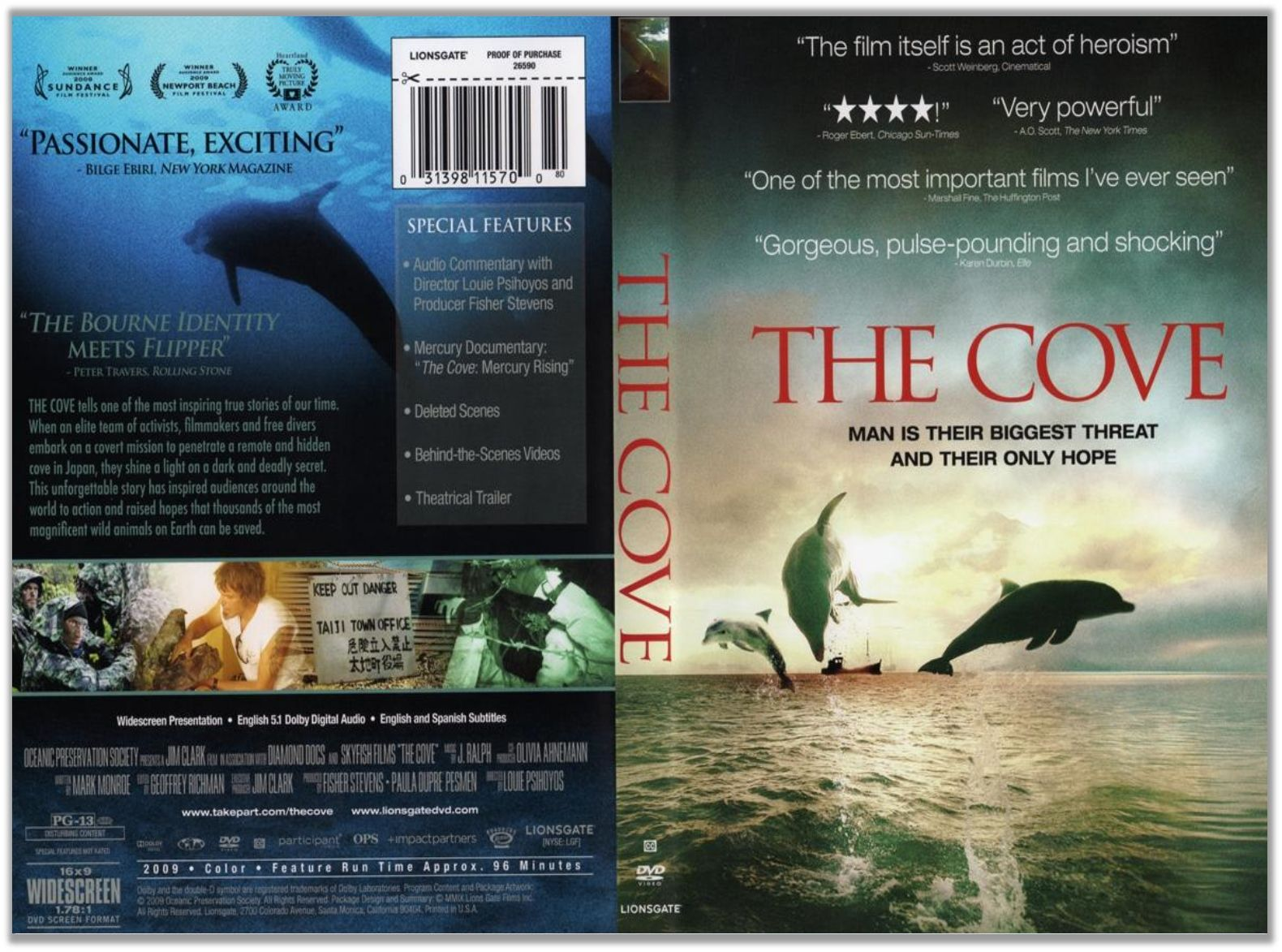 The cove...watch before you buy tickets to sealife parks