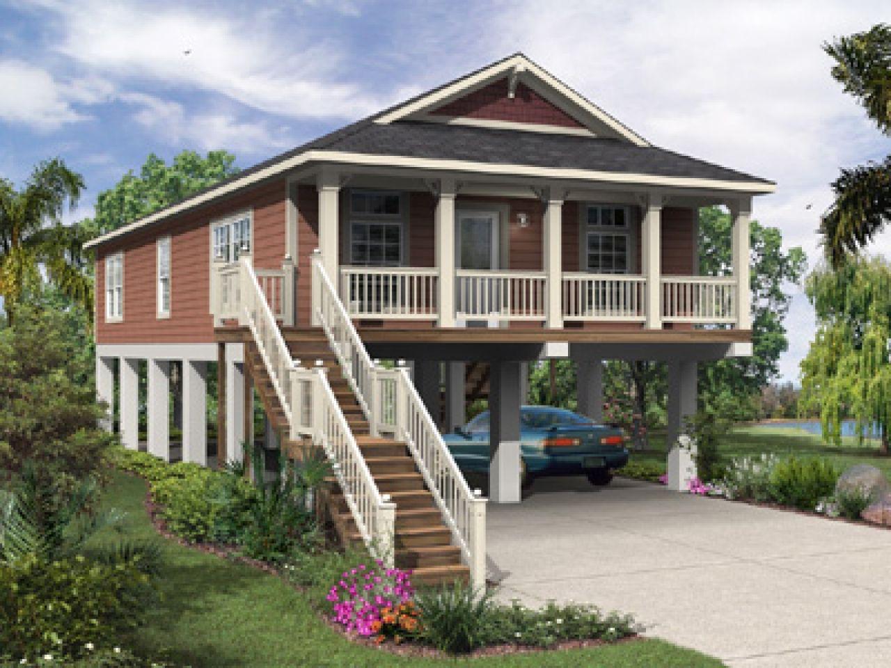 elevated florida house plans raised beach home floor plan
