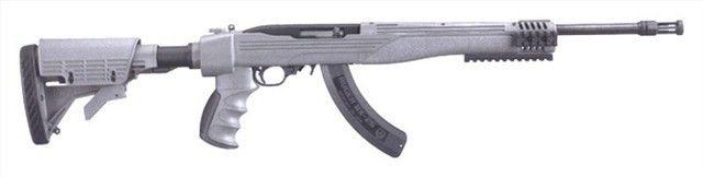 """11113 Ruger 10/22 Tactical 22 LR 16.1"""" 25 RD ATI : Semi Auto Rifles at GunBroker.com"""