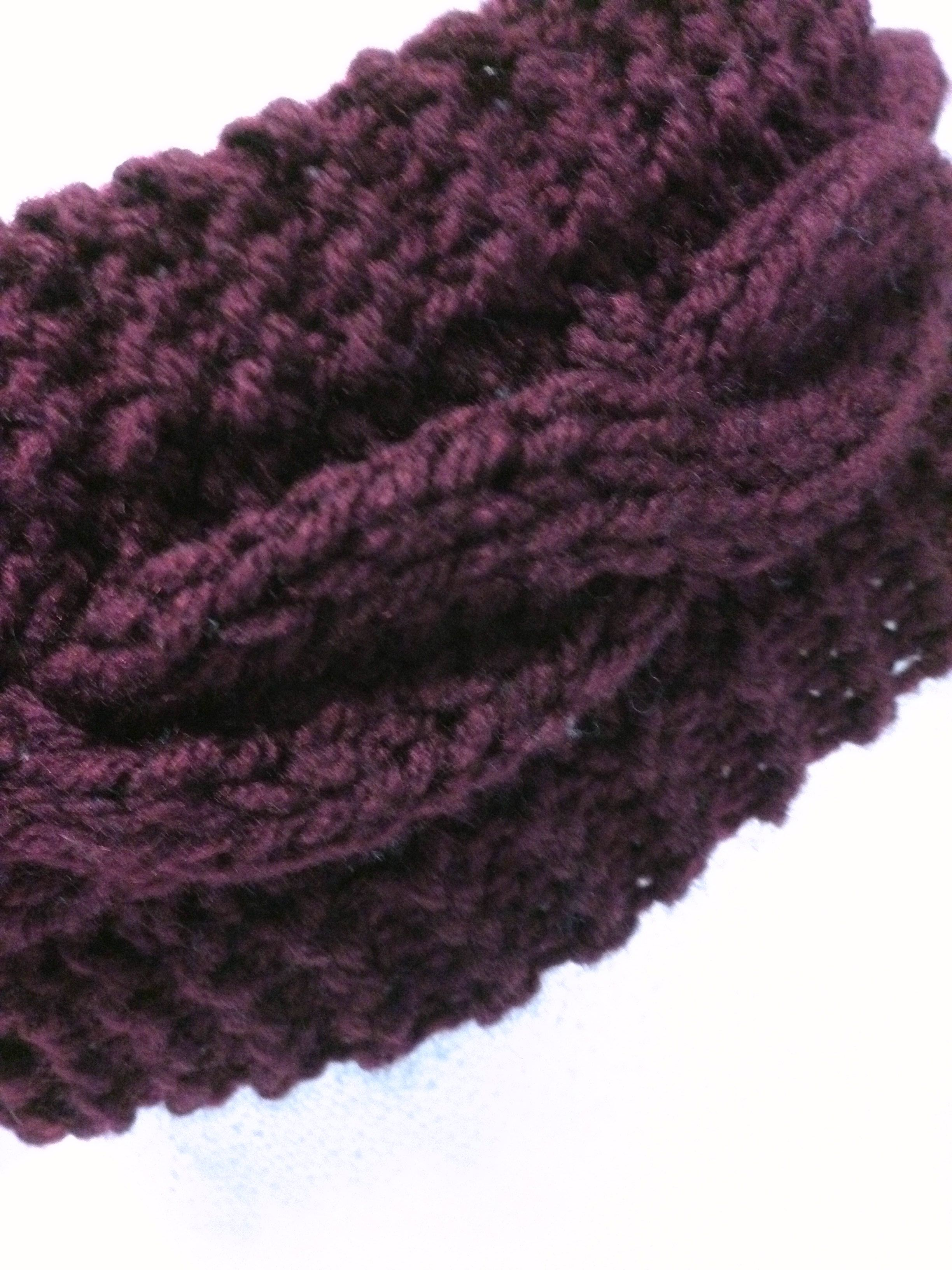 Knit Cabled Ear warmer Pattern , Knit Braided Headband Pattern Wide ...