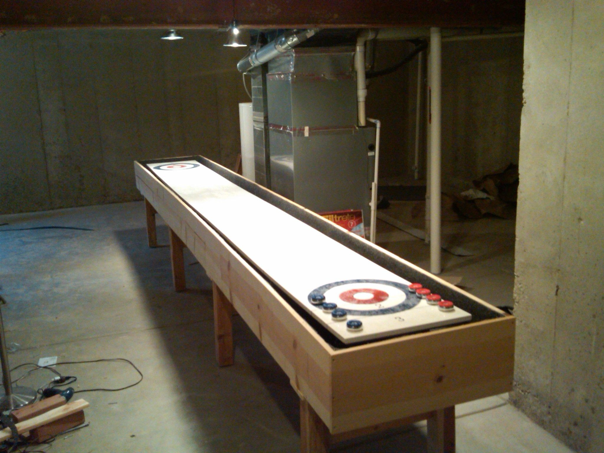 Diy Shuffleboard Table Plans Shuffleboard Table Diy