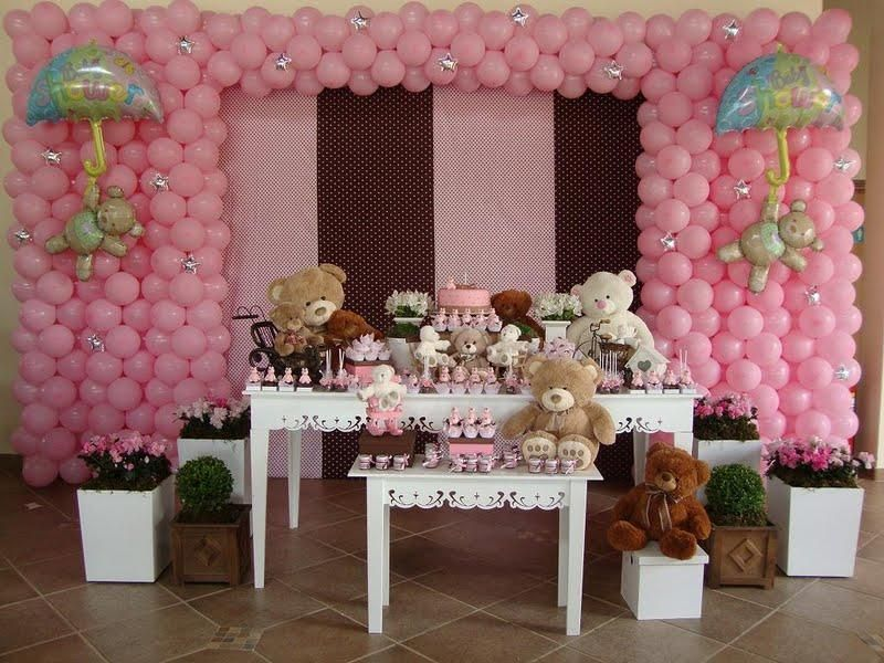 festa marrom e rosa