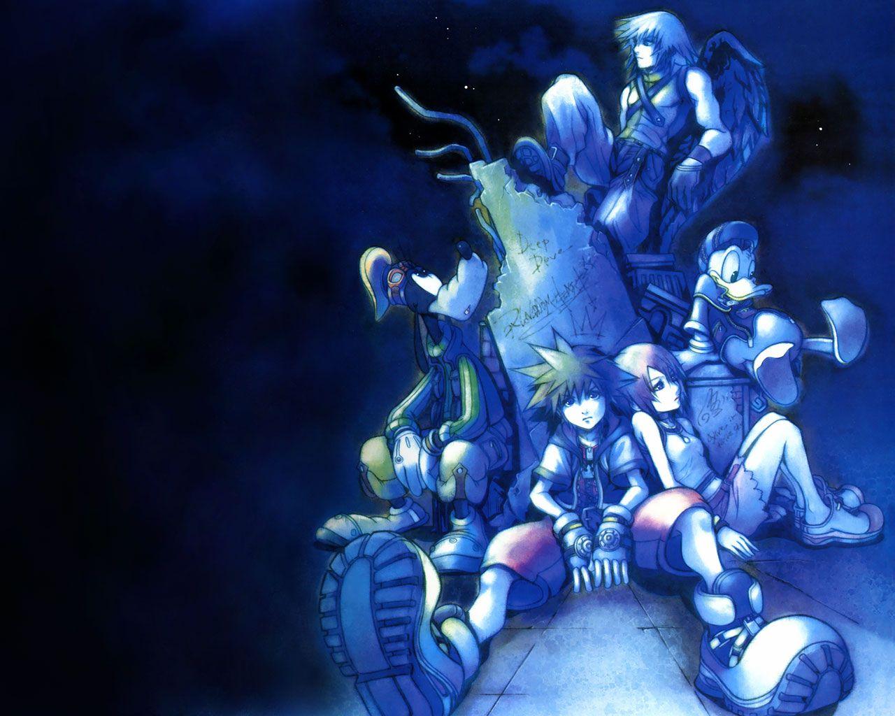 Kingdom Hearts Hearts Final Mix Kingdom Hearts Ii Final Mix From Kingdom Hearts Kingdom Hearts Wallpaper Kingdom Hearts Ii Riku Kingdom Hearts