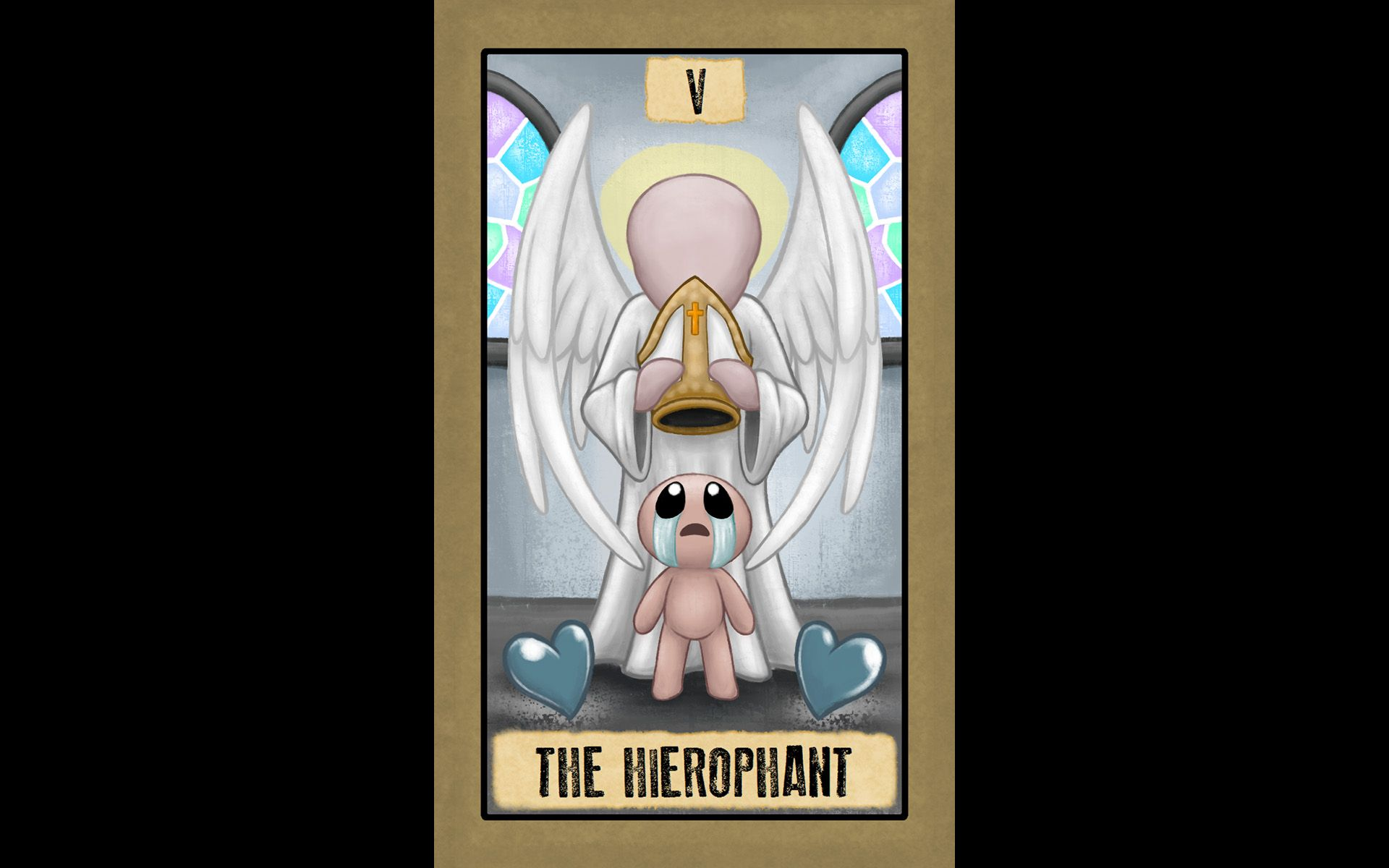 the binding of isaac  v the hierophant  the binding of