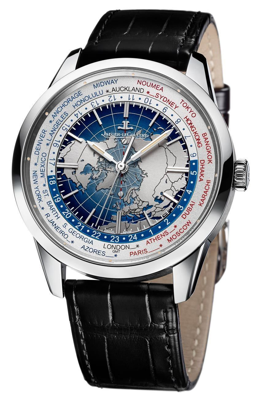 5bf3eb5e1f4 The elegant Jaeger-LeCoultre Geophysic Universal Time Watch ...