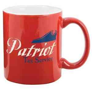 Celebrate your freedom this 4th of July with our 11 oz. Two Tone Mug.  Our red mug with white inside can be customize to fit your marketing needs. They are great for banks, insurance companies, real-estate agencies. They also are a perfect item for elections and fundraisers. Your customers will love and remember your patriotic spirit.