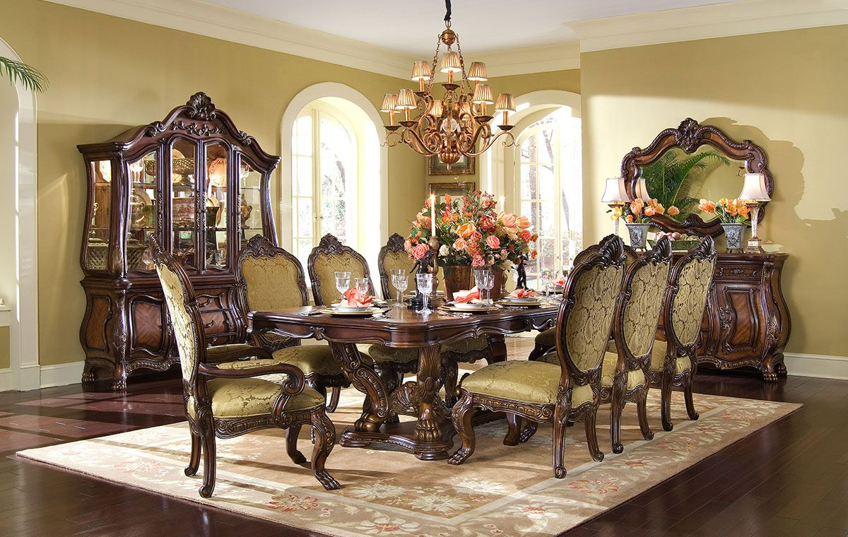 Aico Chateau Beauvais Dining Collection Furniture Market Austin