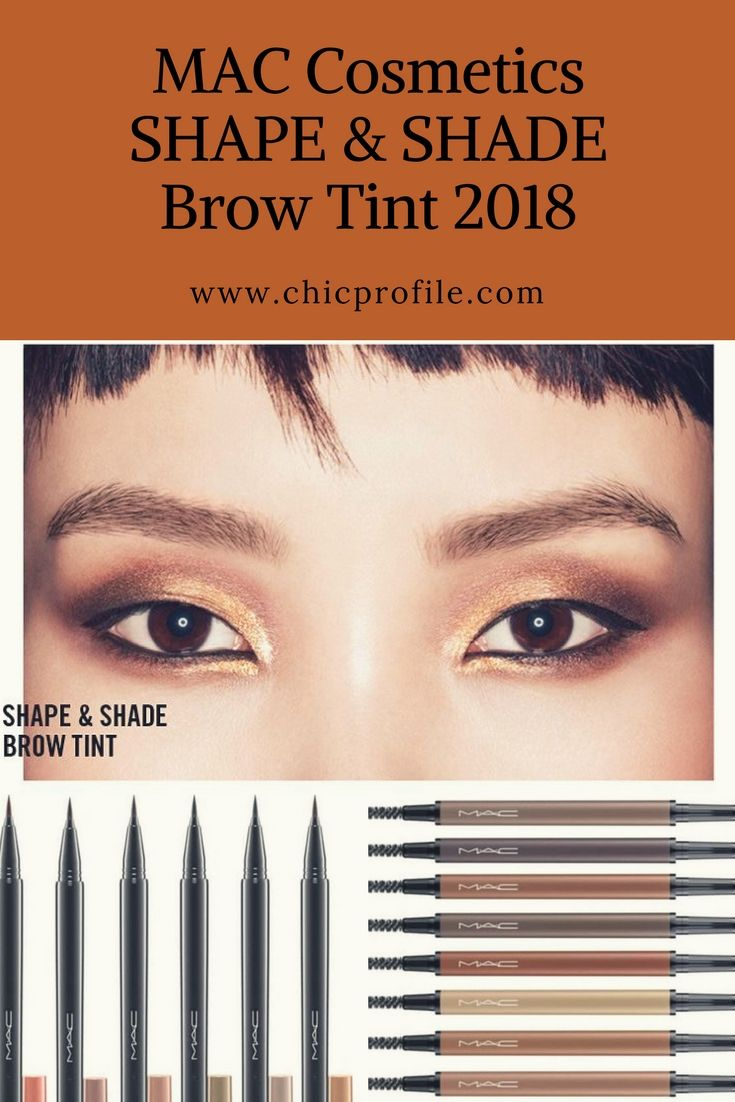 Mac Shape And Shade Brow Tint And Eye Brows Styler Collection