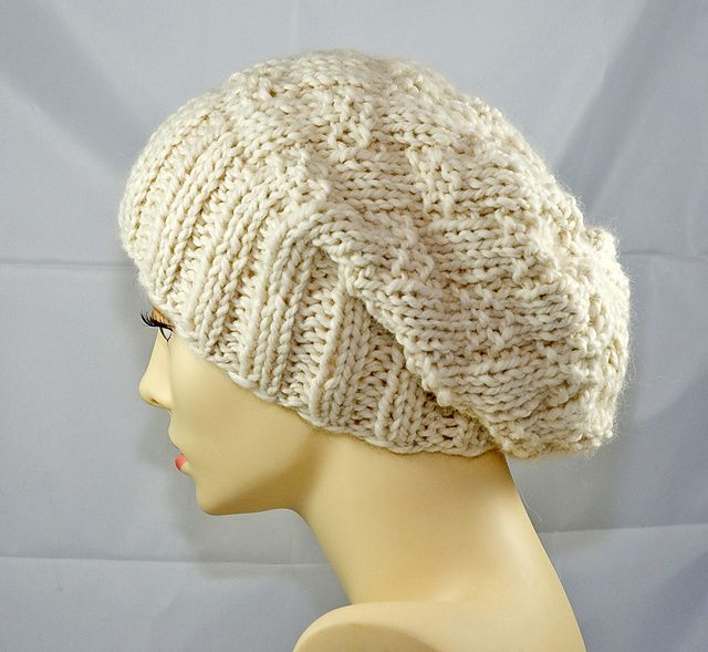Hipster Slouchy Hat pattern by Ninon   Crochet slouch hat ...