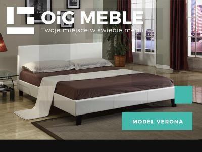 łóżko Tapicerowane Verona Białestelaż 160x200 6022748608