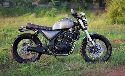 Kawasaki Z250 By Studio Motor Dengan Gambar Moci