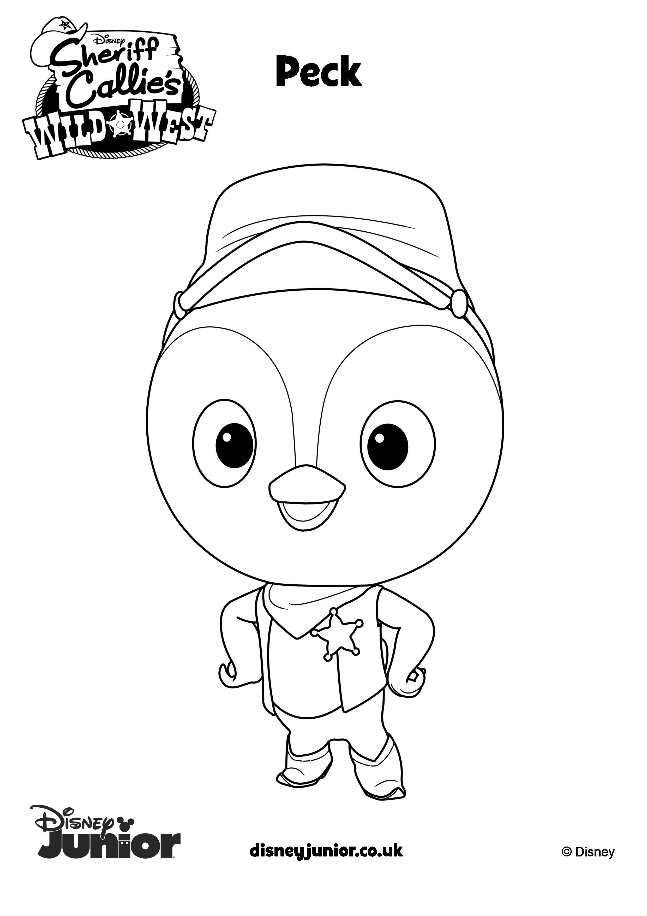 Sheriff Callie Coloring Pages 4 Sheriff Callie Sheriff Callie