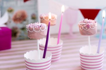 Make that special someone's birthday one to remember with these cake pops.