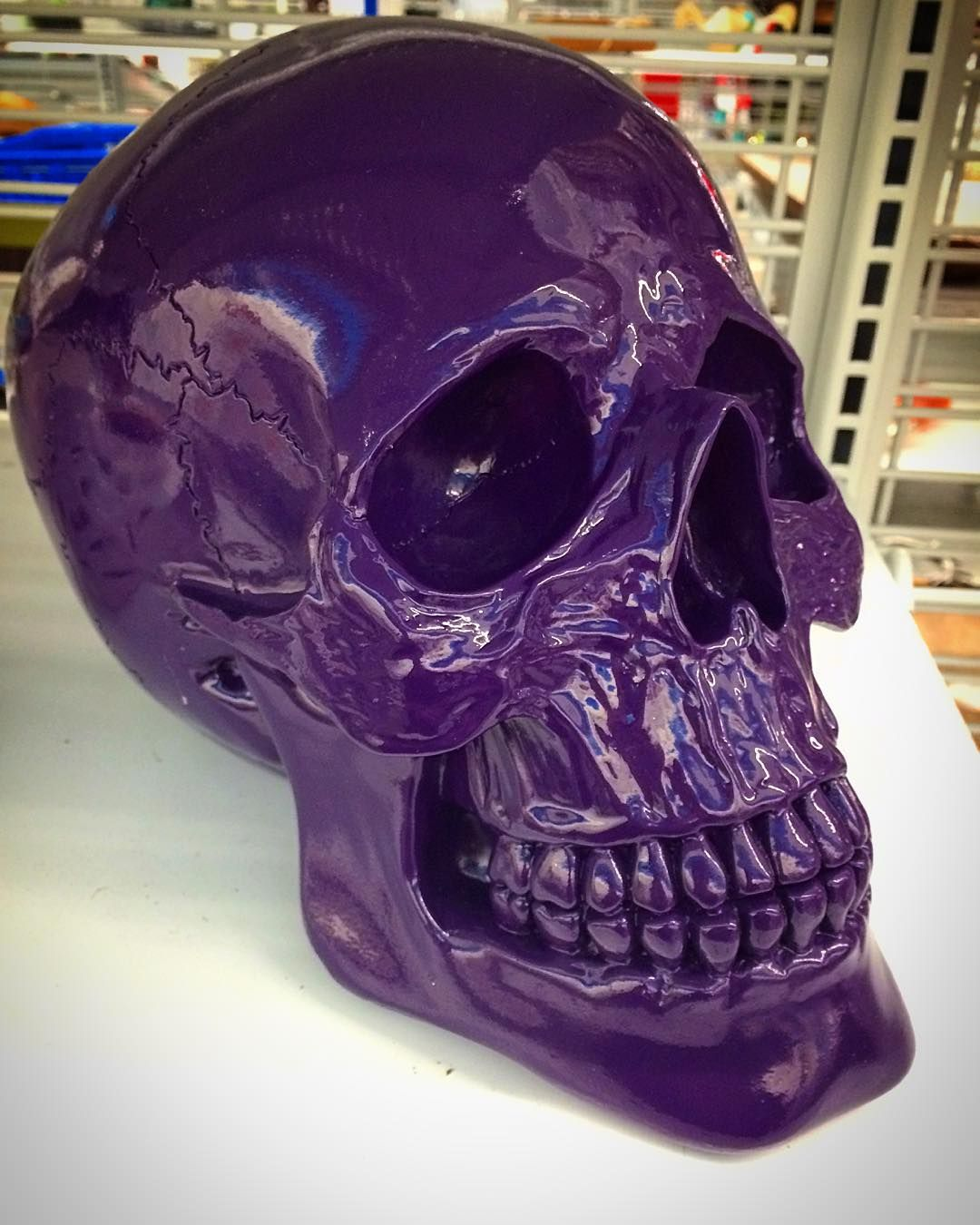 I like #purple but... #skull #instacool  #instascary