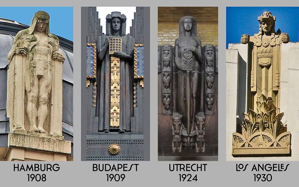 From Jugendstil To Art Deco Hamburg Franz Metzner