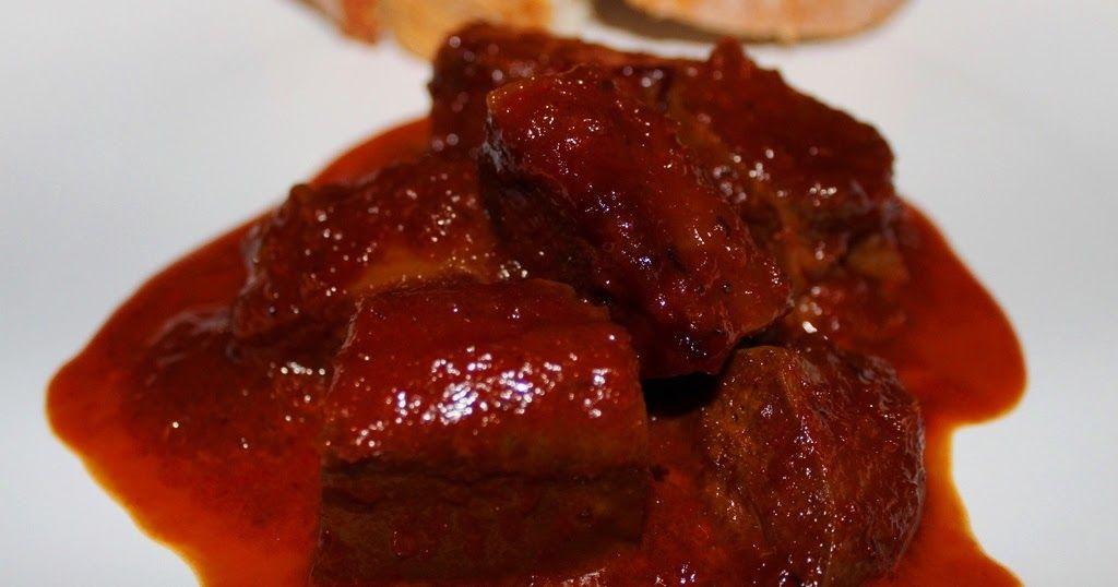 Lengua De Cerdo En Salsa Recetas De La Abuela Luisa Cerdo En Salsa Lengua En Salsa Recetas De Cocina