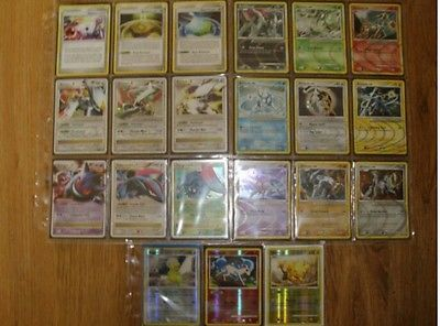 Complete set pokemon arceus cards pokemon cards