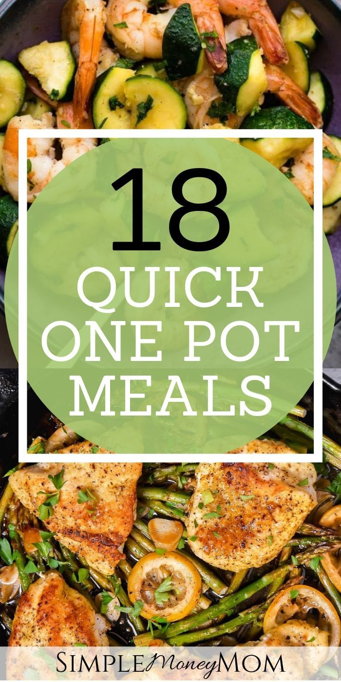 Super Quick One Pot Meals for Busy Nights images