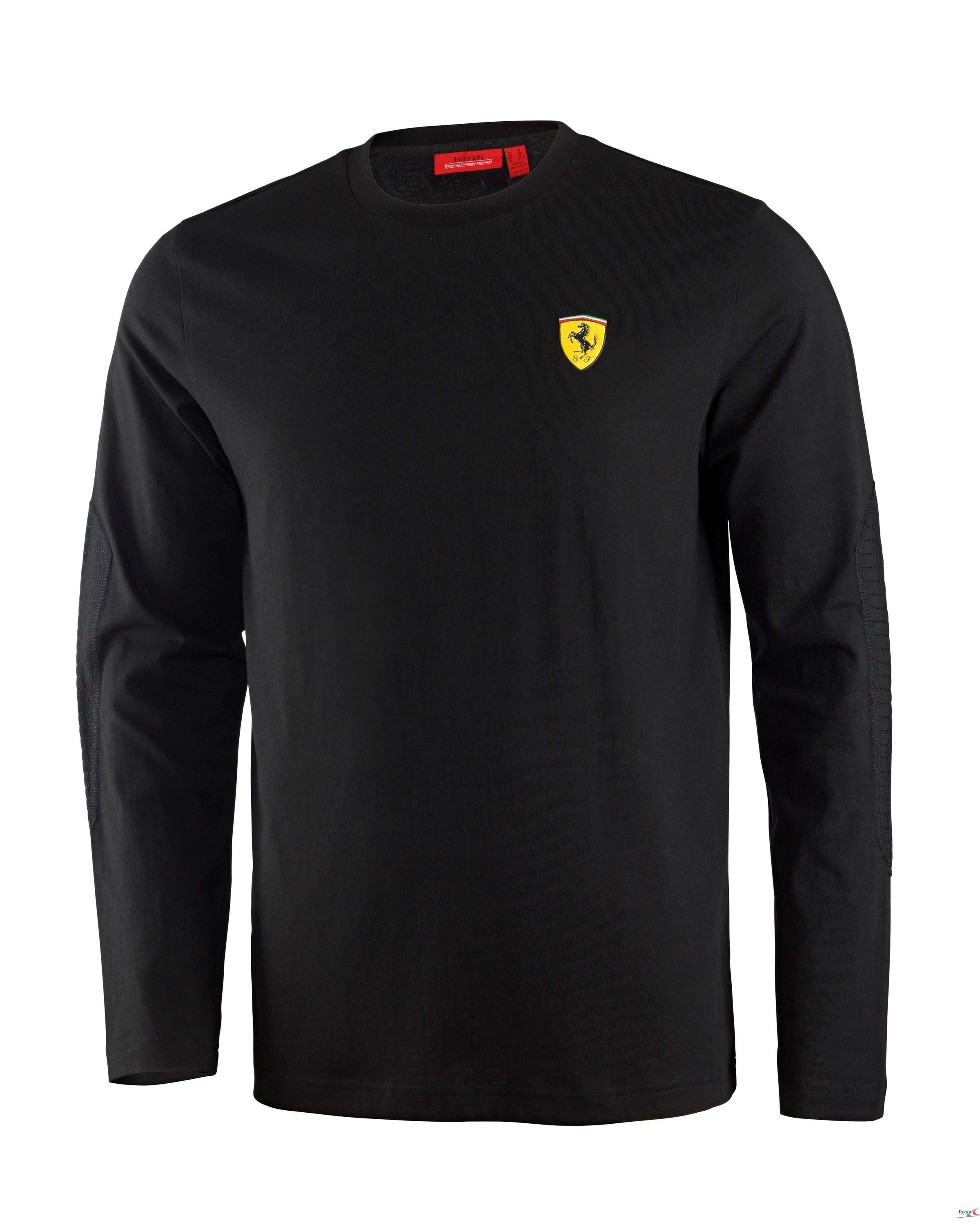 s tee sports red puma t mens graphic big shirt itm premium new men rosso shield cotton sf ferrari rossa
