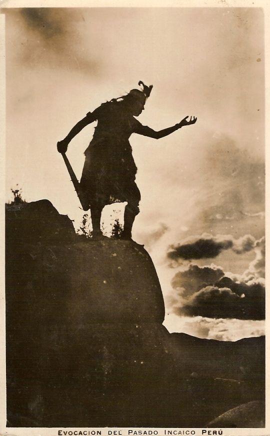 Evocación del Pasado Incaico Perú - 1929 CHAMBI,MARTIN (ATRIBUIDO A)
