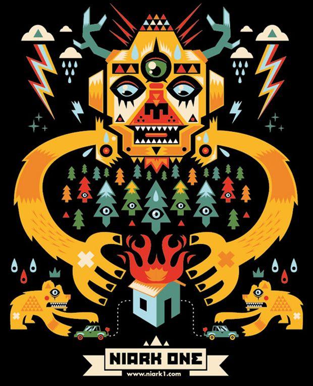 Niark1 Digital Artists Art Illustration