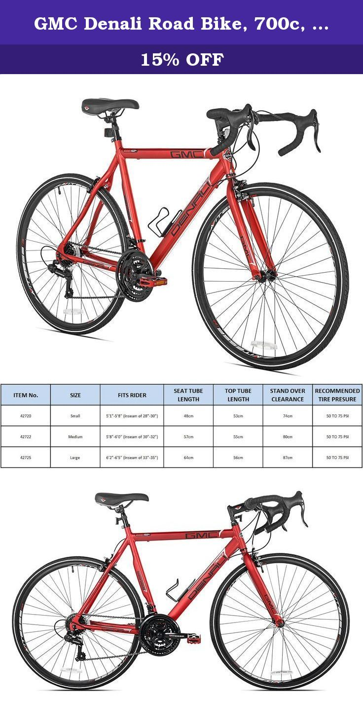 Gmc Denali Road Bike 700c Red Medium 57cm Frame The Gmc Denali
