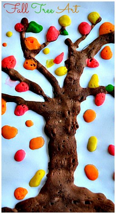 Fun Fall Tree Art And Craft Activity Doesnt The Trunk Look