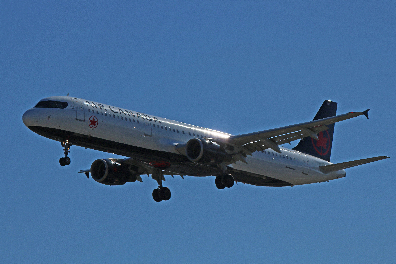 CFGKZ Air Canada Airbus A321200 (Formerly With Air
