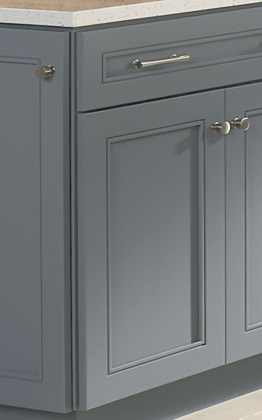 Waterton Pull Satin Nickel 12 Cabinet Door Styles Kraftmaid Cabinets Nautical Kitchen Cabinets