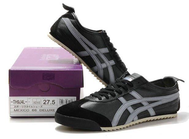 Asics Onitsuka Tiger Mexico 66 Lauta Shoes Black Gray Tiger