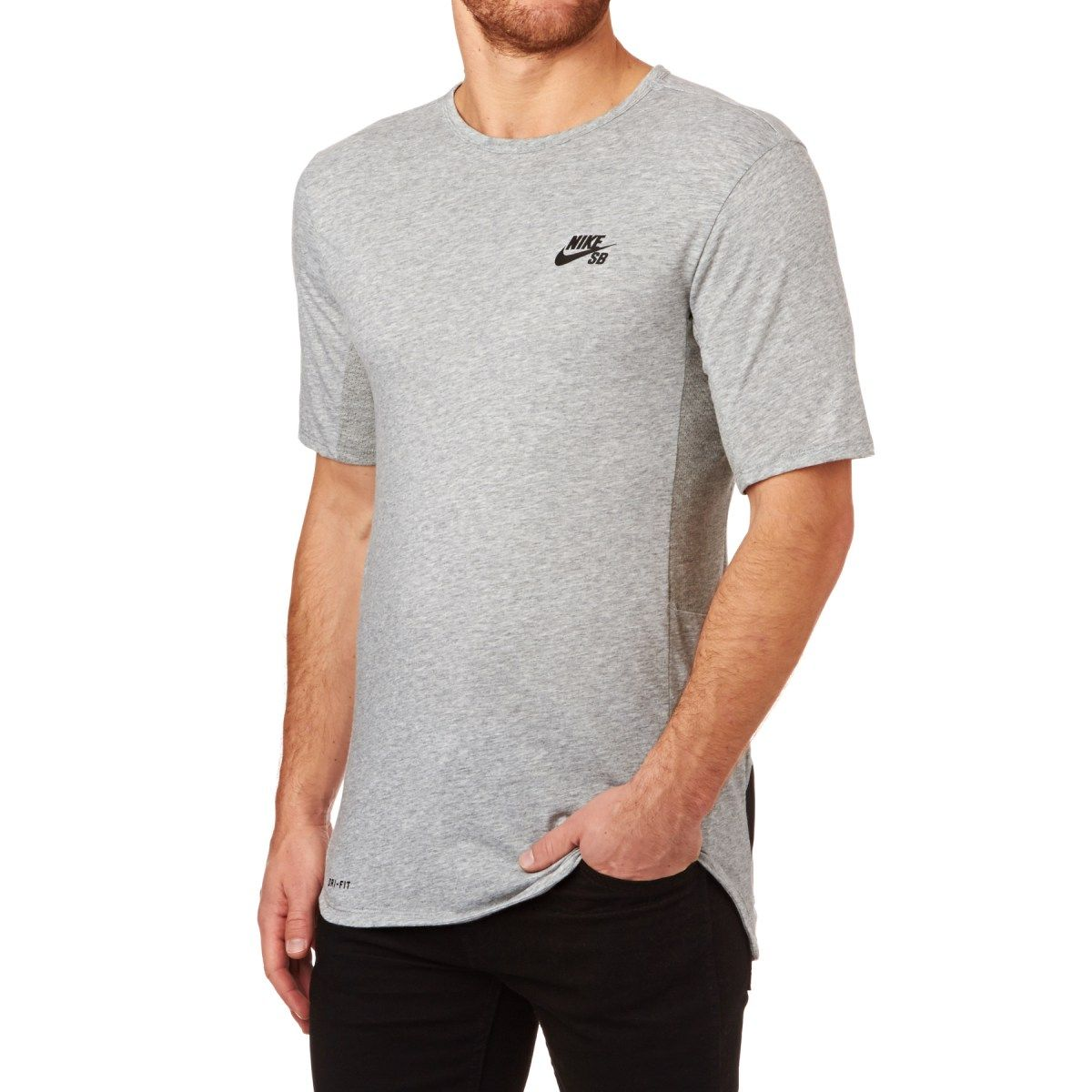 Men's Nike Skateboarding T-shirts - Nike Skateboarding SB Skyline Dri-fit  Cool Graphic