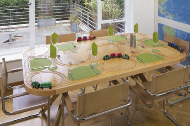 The Dining Table That Doubles Up As A Train Track Does That Mean
