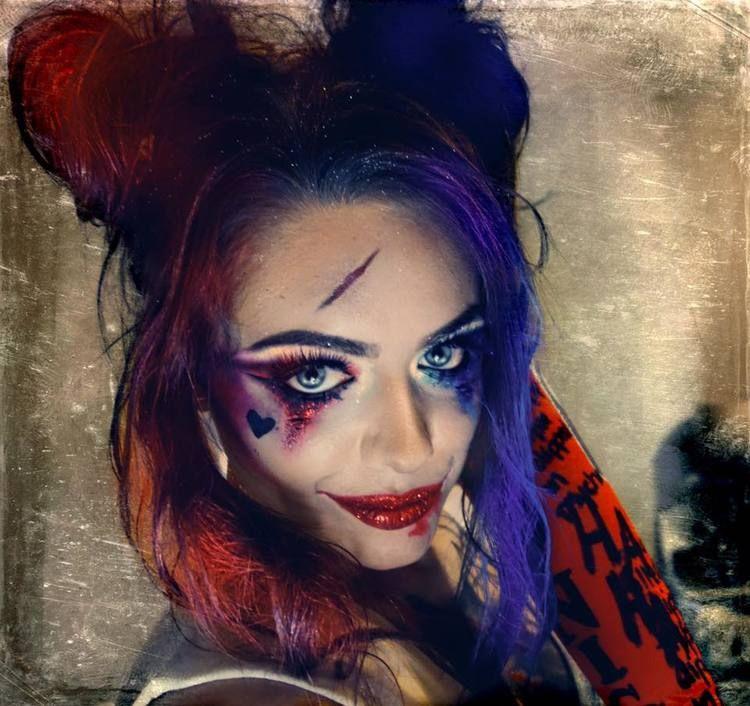 harley quinn makeup - 750×706