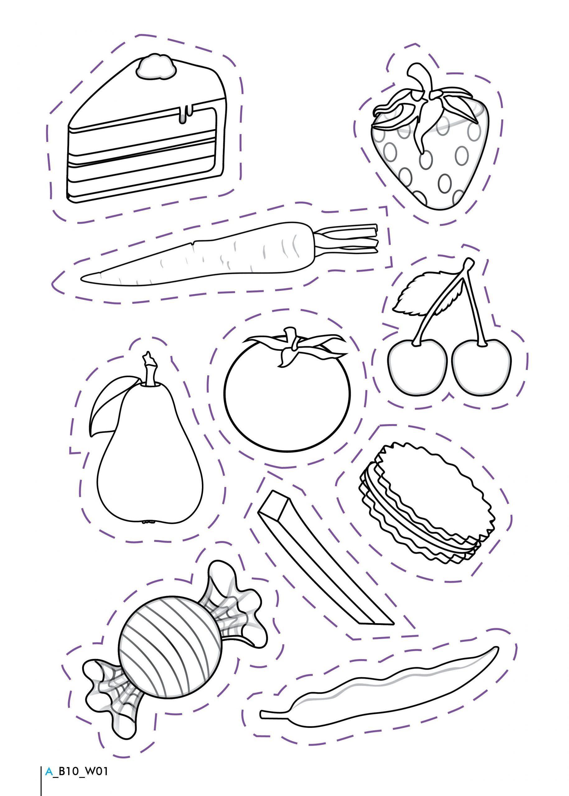 Kindergarten Nutrition Worksheets Healthy And Unhealthy