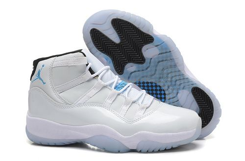 101214132148c9 Women Air Jordan AJ11 Jordan retro 11 Basketball Shoes A+ All White ...