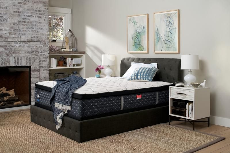 Sealy Pathos Firm Queen Mattress And Boxspring Set Leon S