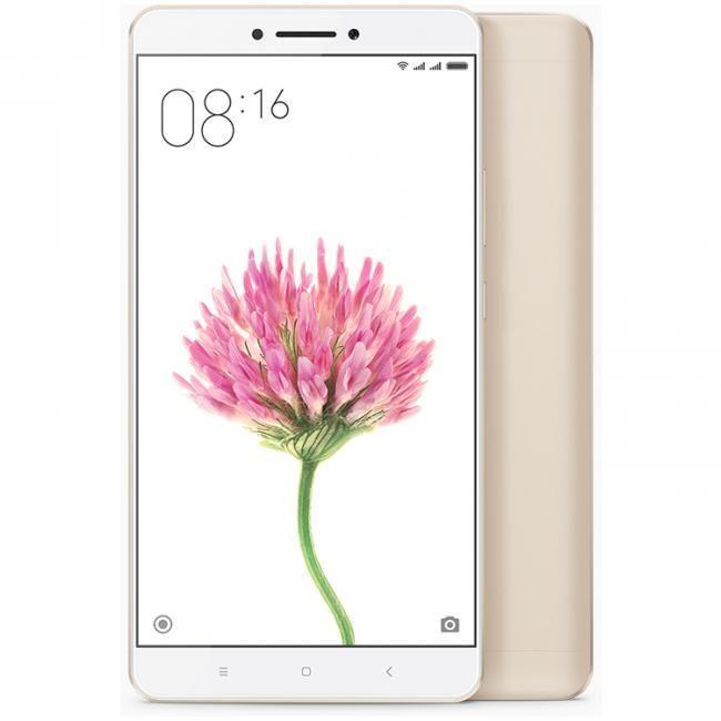 """New Smartphone Wallpaper: Xiaomi Mi Max Gold 3gb Ram 32gb Rom 6.44"""" Screen Android 6"""