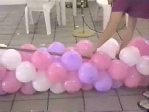Bases Para Arco De Baloes Youtube Arcos De Baloes Como Fazer