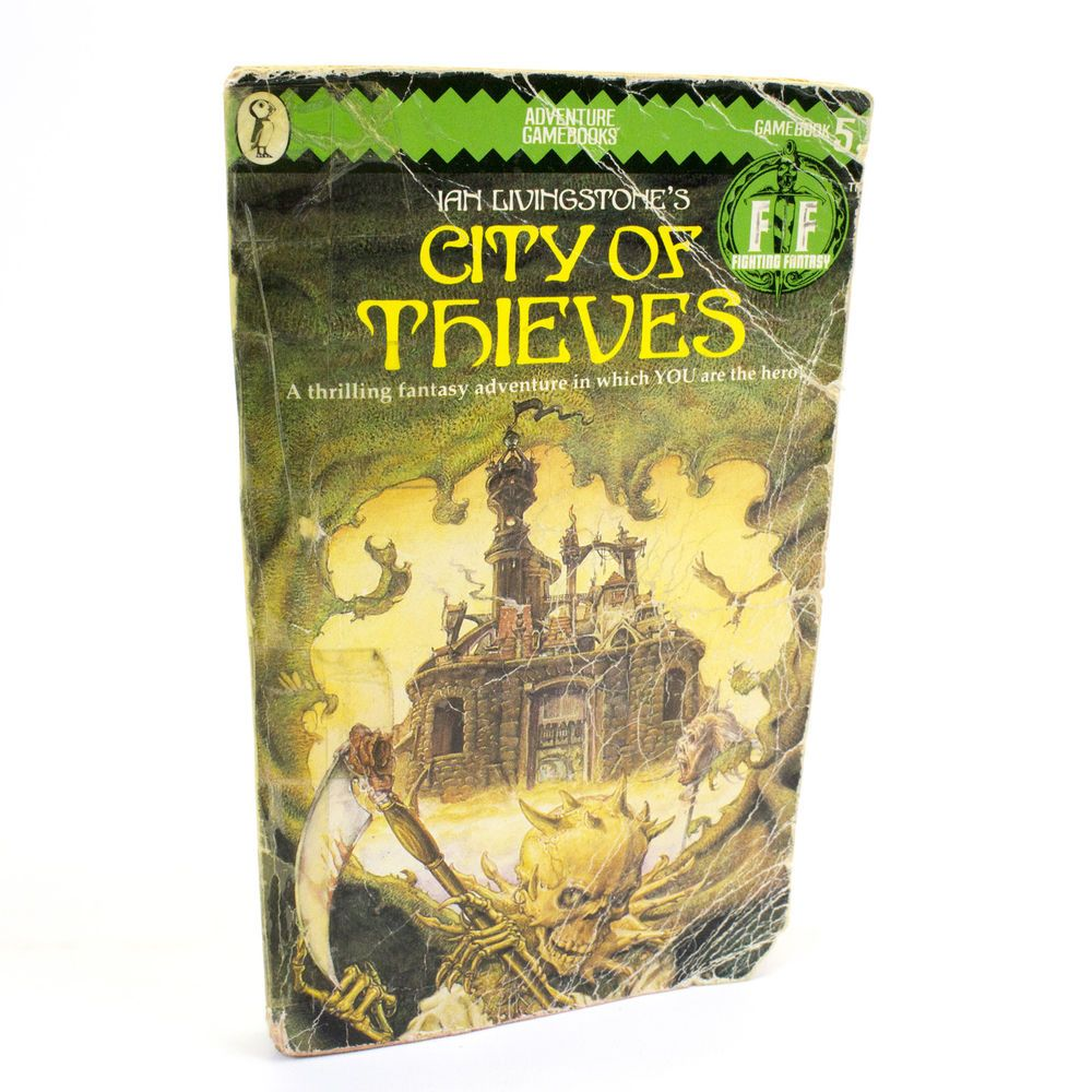 City Of Thieves Puffin Fighting Fantasy Book 5 Ian Livingstone Fighting Fantasy Books Livingston City