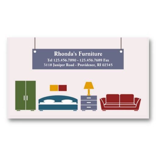 Furniture business card business cards and business furniture business card colourmoves