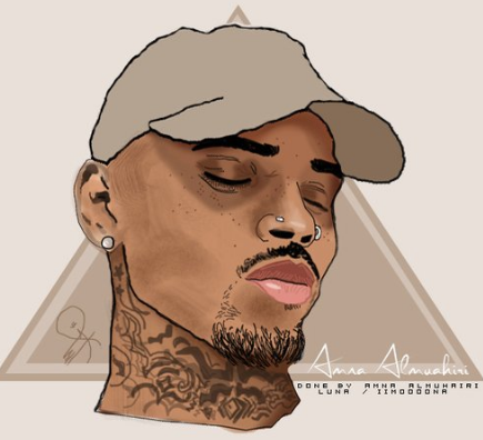 Chrisbrown Breezy Art Design Rap Hiphop Heartbreakonafullmoon Teambreezy Chris Brown Chris Brown Art Chris Brown Drawing Chris Brown Wallpaper