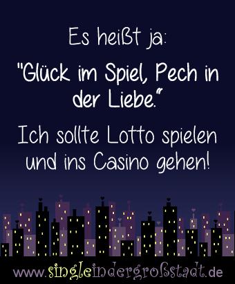Casino, Pech In Der Liebe? Glück Im Spiel!