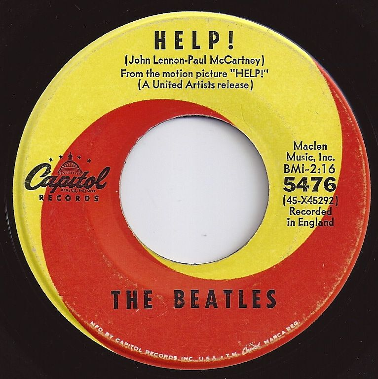 Help Beatles 1 On Billboard 1965 In 2019 Beatles Albums The Beatles Help The Beatles